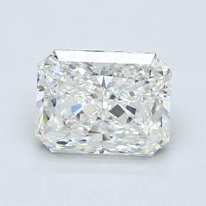 1.23-Carat Radiant Diamond Very Good G VS2