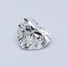 0.53 Carat Corazõn Diamond Muy buena D VVS2