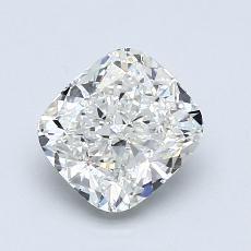 1.22-Carat Cushion Diamond Very Good H VVS2