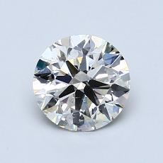 1.00 Carat 圓形 Diamond 理想 K SI1