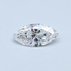 Target Stone: 0.30-Carat Marquise Cut Diamond