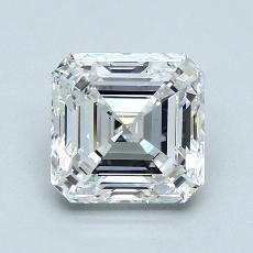 2,01-Carat Asscher Diamond Very Good F VS2