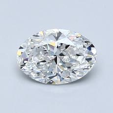Recommended Stone #1: 0.90-Carat Oval Cut Diamond