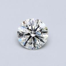 Recommended Stone #1: 0.51-Carat Round Cut Diamond
