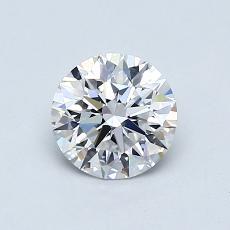 0.75 Carat 圓形 Diamond 理想 D VVS2