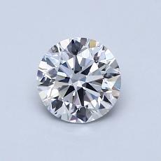 オススメの石No.3:0.70カラットラウンドカットダイヤモンド