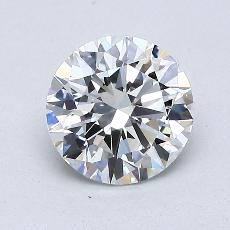 1.01-Carat Round Diamond Ideal F VVS2