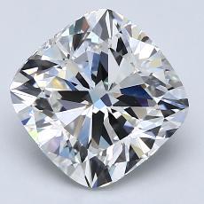 3,26-Carat Cushion Diamond Very Good F VVS2