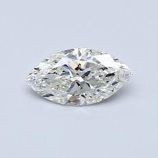 Recommended Stone #3: 0,42-Carat Marquise Cut Diamond