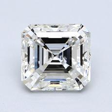 Pierre recommandée n°2: Diamant taille Asscher 1,30 carat