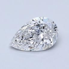 推荐宝石 2:0.80 克拉梨形切割钻石