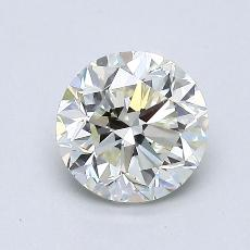 1.00-Carat Round Diamond Good K SI1
