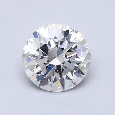1.04-Carat Round Diamond Ideal E SI1