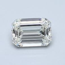Pierre recommandée n°1: Diamant taille émeraude 0,92 carat