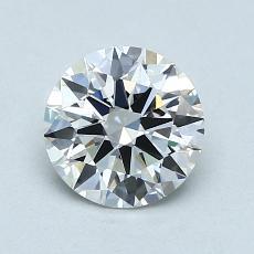 1.00 Carat 圓形 Diamond 理想 F VVS1