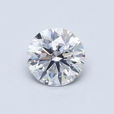 0.62 Carat 圓形 Diamond 理想 F SI1