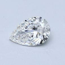 Recommended Stone #2: 1.25-Carat Pear Cut Diamond