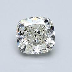 推荐宝石 1:1.01 克拉垫形切割