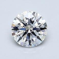 Recommended Stone #3: 1,05-Carat Round Cut