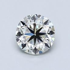 1.01 Carat 圓形 Diamond 良好 J VVS2