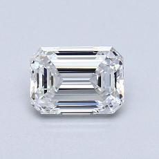 Recommended Stone #3: 0.83-Carat Emerald Cut Diamond