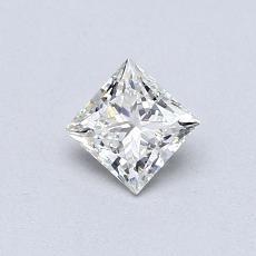 推薦鑽石 #1: 0.40  克拉公主方形鑽石