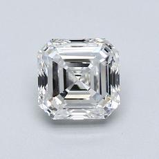 1.01 Carat アッシャー Diamond ベリーグッド F VS1