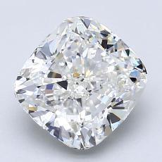 Pierre recommandée n°2: Diamant taille coussin 2,50 carats
