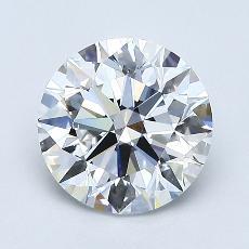 1.31 Carat Redondo Diamond Ideal E VS2