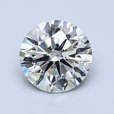1.20 Carat 圆形 Diamond 理想 K SI2
