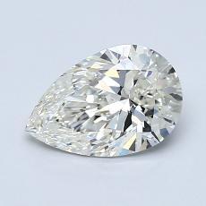 推荐宝石 4:1.02 克拉梨形切割钻石