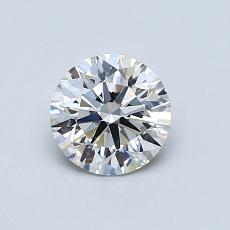 0.72 Carat 圆形 Diamond 理想 I VS2