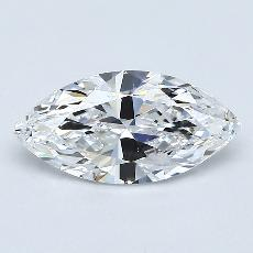 1,01-Carat Marquise Diamond Very Good E VS2