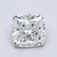 1.21-Carat Cushion Diamond Very Good D VS1