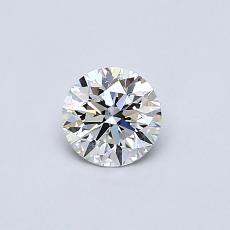 0.40 Carat 圓形 Diamond 理想 F VS1