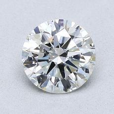推荐宝石 3:1.06 克拉圆形切割