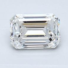 Recommended Stone #3: 1.26-Carat Emerald Cut Diamond