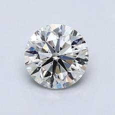 1,00-Carat Round Diamond Good K SI1