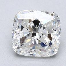 2.01-Carat Cushion Diamond Very Good H VS2