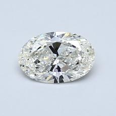 推薦鑽石 #3: 0.59 克拉橢圓形切割鑽石