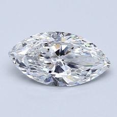 0.91-Carat Marquise Diamond Very Good D VS2