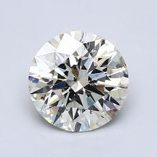 1,21-Carat Round Diamond Ideal K SI2