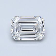 Recommended Stone #1: 0.95-Carat Emerald Cut Diamond