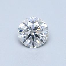 0.50 Carat Redondo Diamond Ideal F SI2