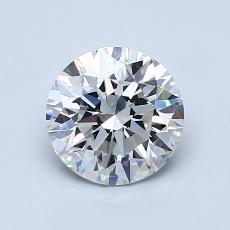 1.07 Carat 圆形 Diamond 理想 H VVS2