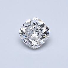Recommended Stone #1: 0,50-Carat Cushion Cut Diamond
