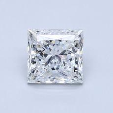 1,02-Carat Princess Diamond Very Good E VVS2