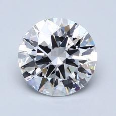1.51-Carat Round Diamond Ideal D VVS1