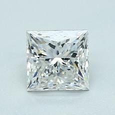 オススメの石No.2:1.07カラットプリンセスカットダイヤモンド