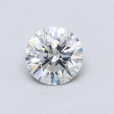 推荐宝石 3:0.59 克拉圆形切割